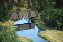 Manning covered bridge at Green Hollow