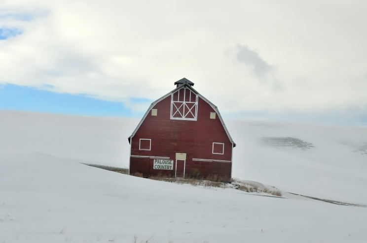 """""""Palouse Country"""" Barn just South of Uniontown"""